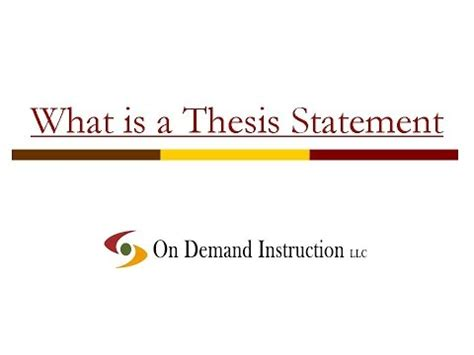 Evaluation Essays: Evaluation Essay Thesis Statement